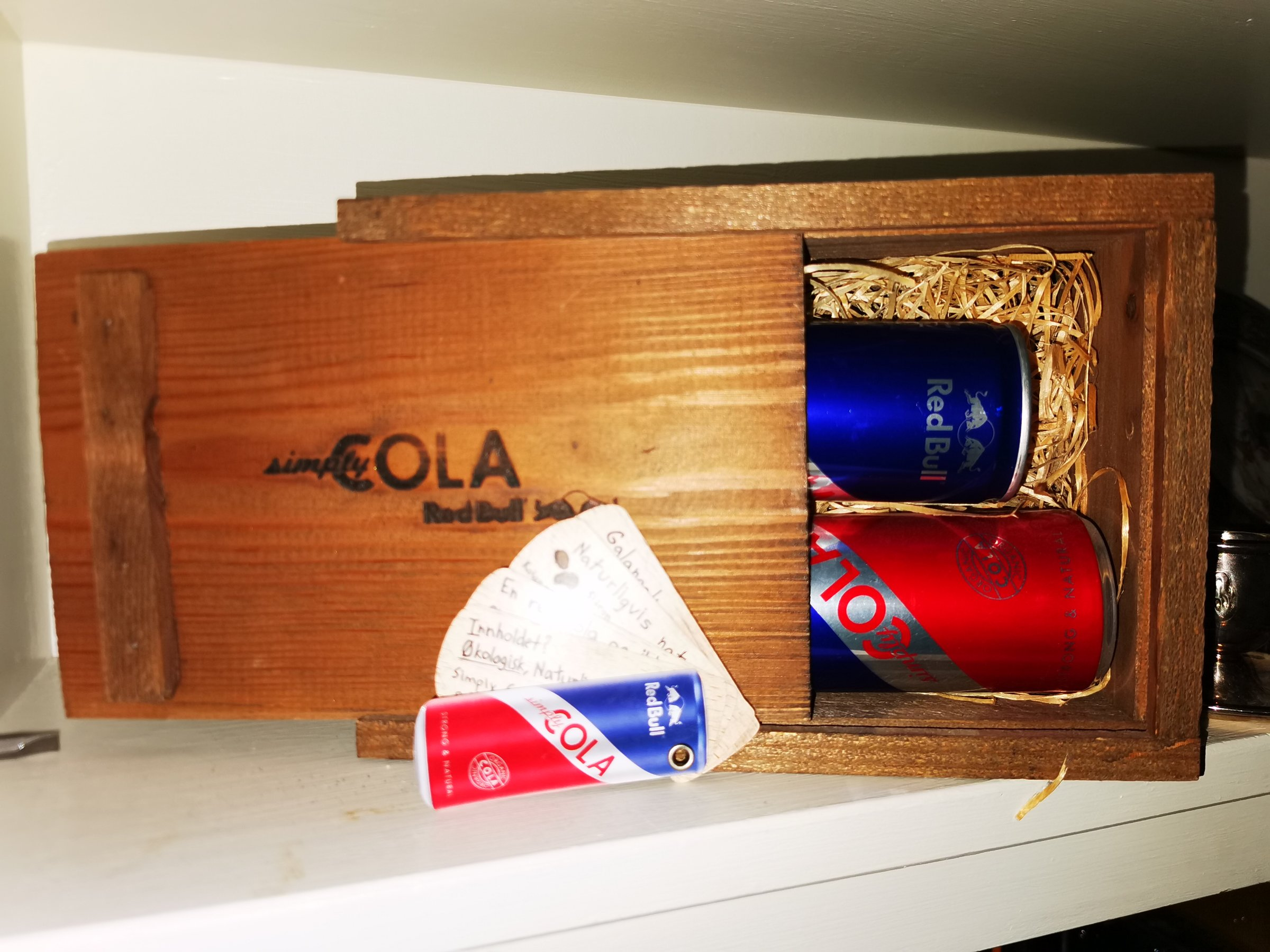 Simply cola redbull